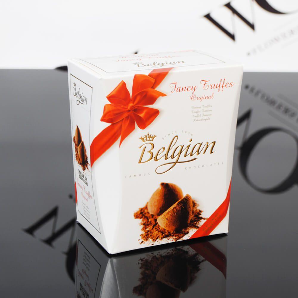 belgiski saldainiai WOWflowers