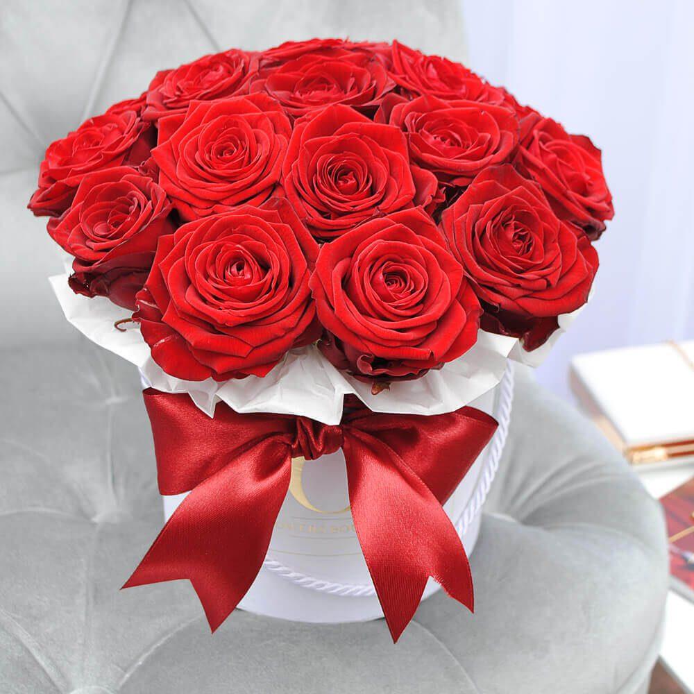 raudonos rozes dezuteje