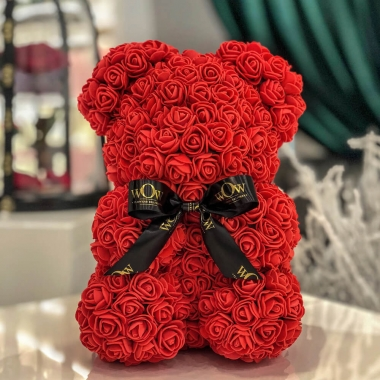 Rose Teddy Bear 2