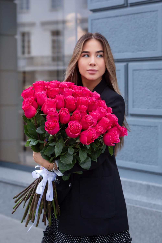 Rožių puokštė Cherry O